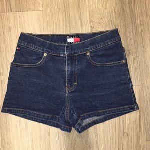 90's Tommy Hilfiger Jean Shorts